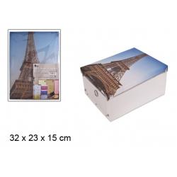 KUTIJA PVC PARIS 32X23x15cm