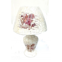 KERAMIČKA LAMPA 40cm AD1594