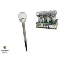 SOLARNA LAMPA STAKLENA 38cm Minimalna količina 12 komada